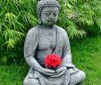 Buddha Deko Garten Frisch Stein Buddha Feng Shui Steinfigur Grau Anthrazit Patiniert