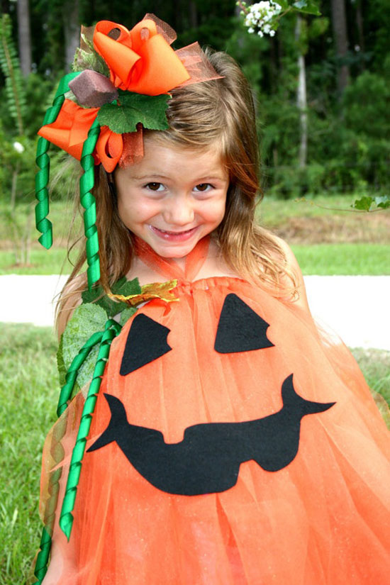 disfraz halloween 2012 con tul