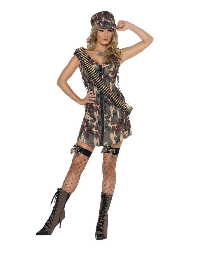army girl kostuem