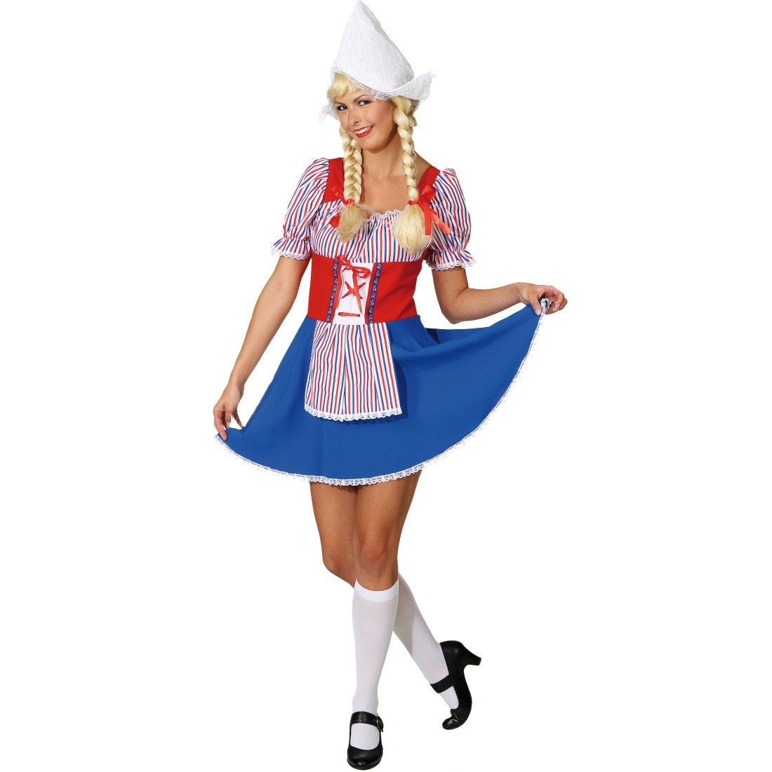 Hollaenderin Damen Karneval Kostuem Frau Antje
