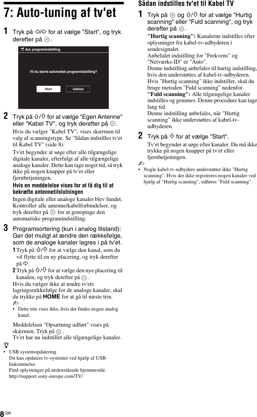 SonyKdlEx User Guide Page 8