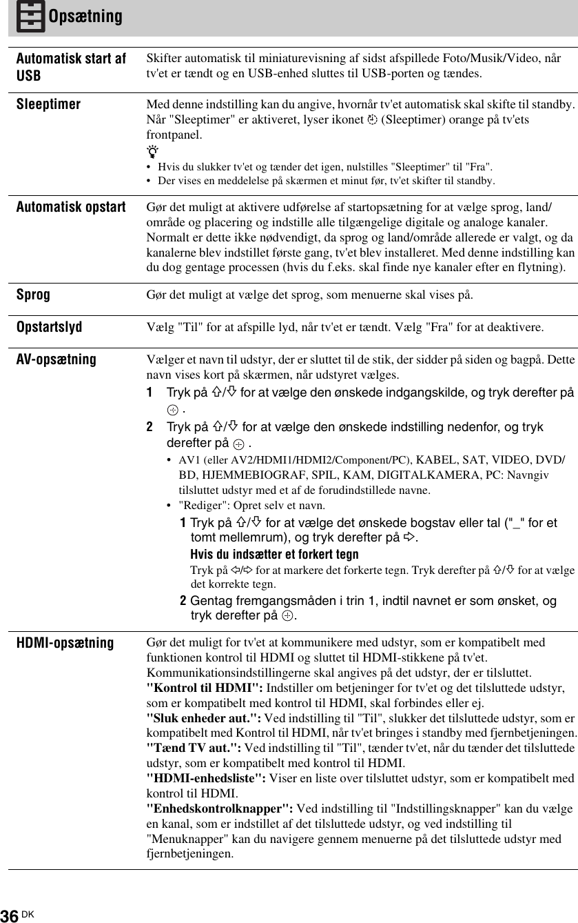 SonyKdlEx User Guide Page 36