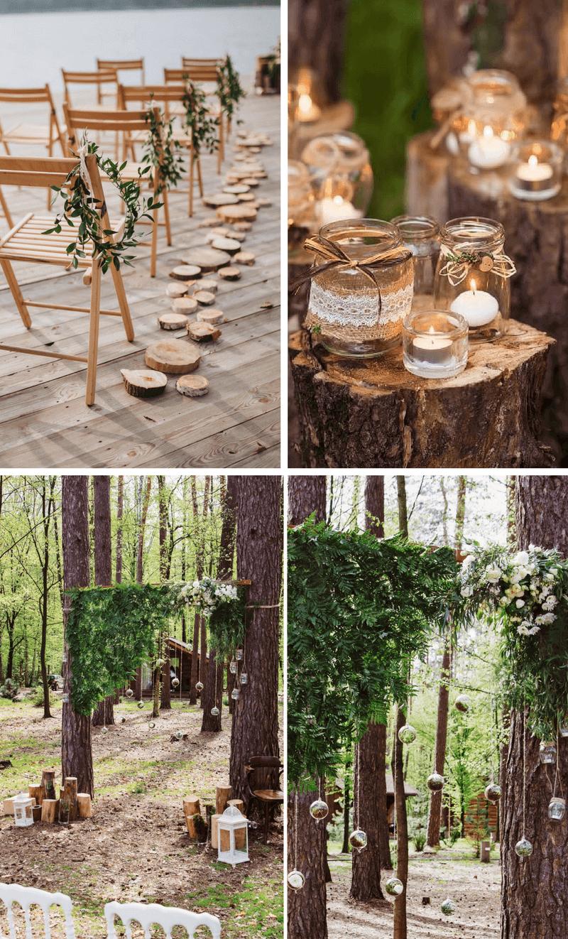 Rustikale Hochzeitsdeko aus Holz hochzeitskiste 6