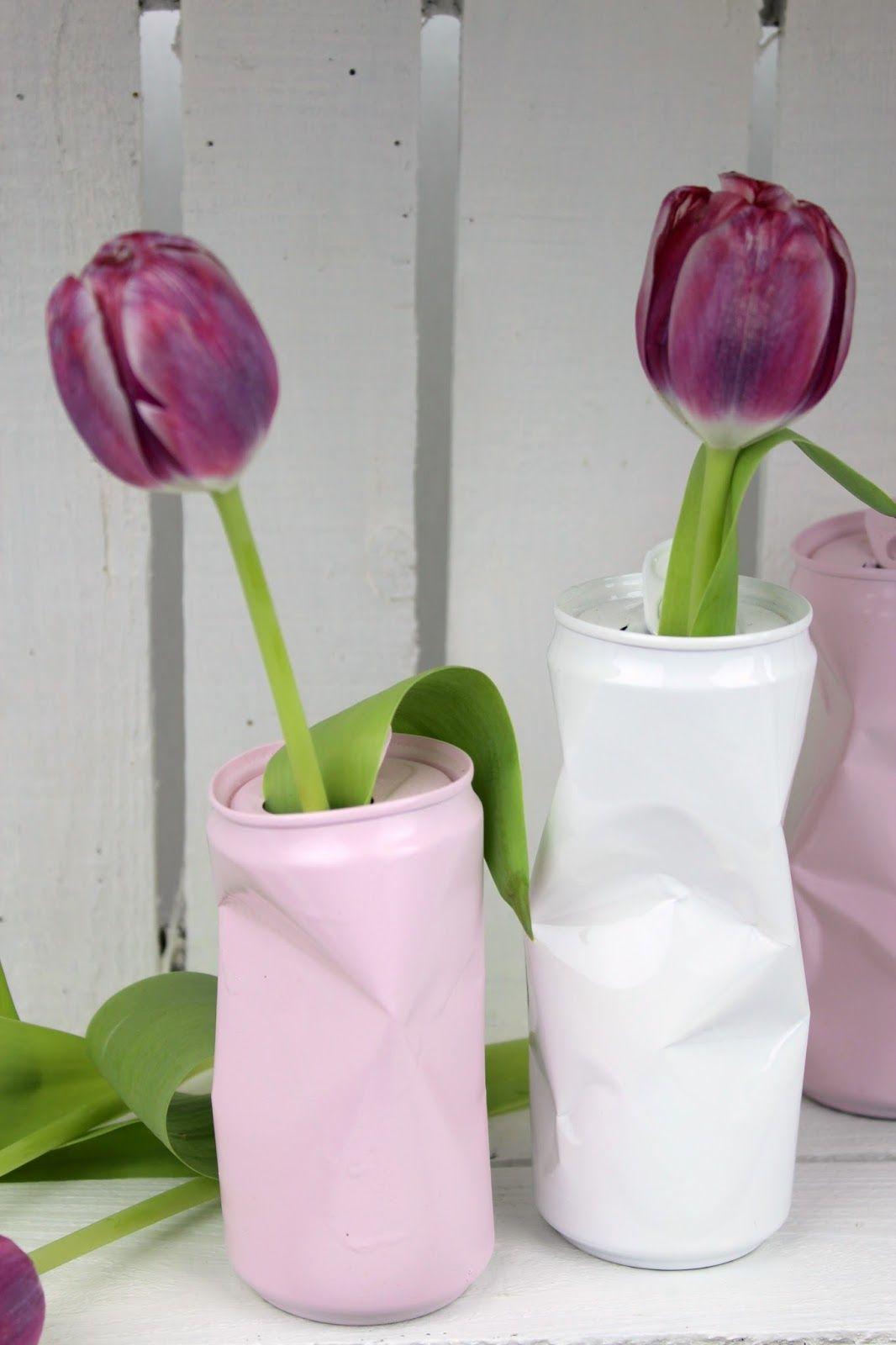 Deko Aus Dosen Basteln Frisch Diy Blumenvase Aus Alten Dosen Geniale Recycling
