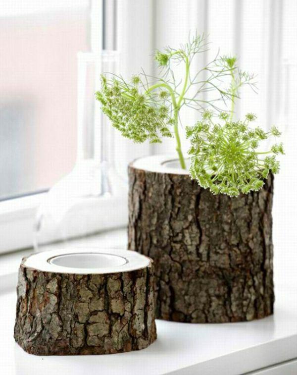 Deko Aus Holzstämmen Einzigartig Schöne Dekoration Mit Holzstämmen Holzstämme