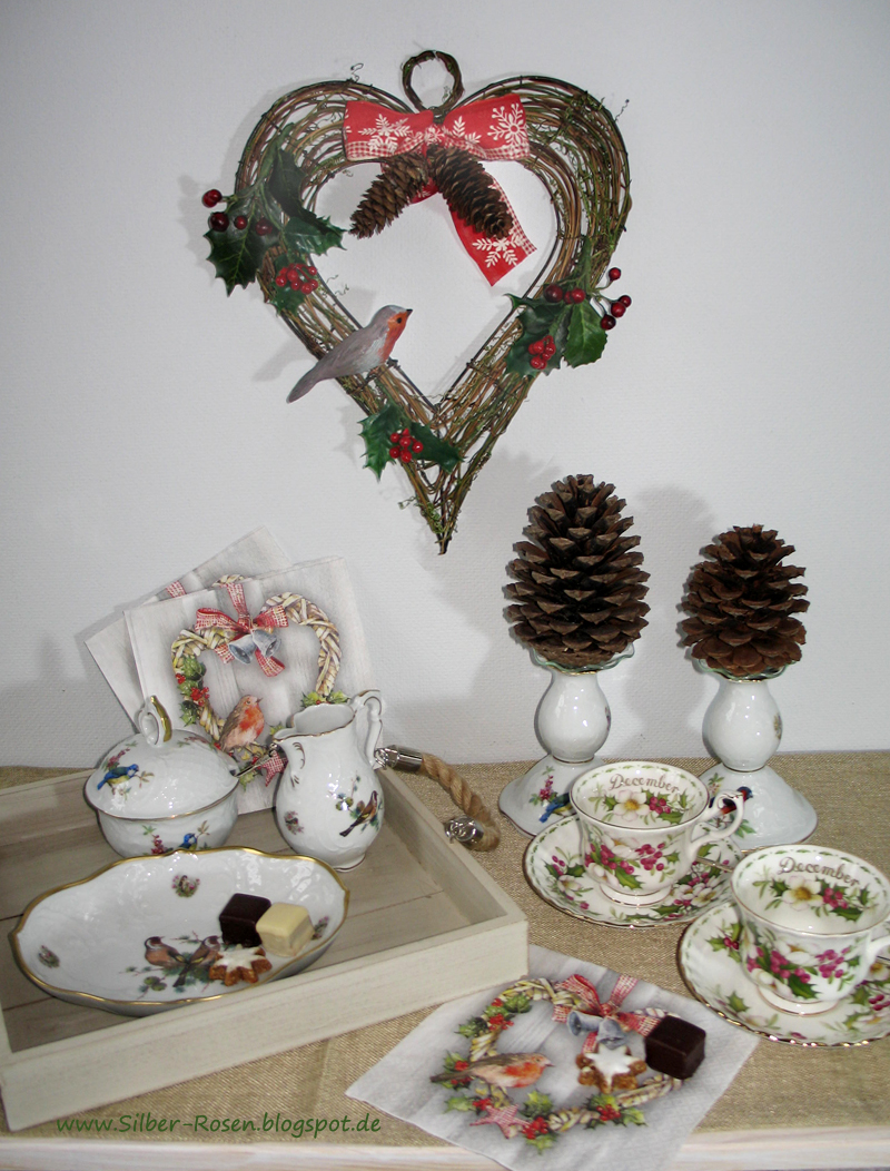 Tea Time Robin