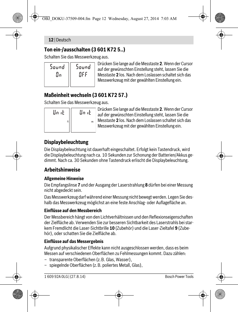 Instruction A0E06F Fb4C14Fa2D7Ee9 User Guide Page 12