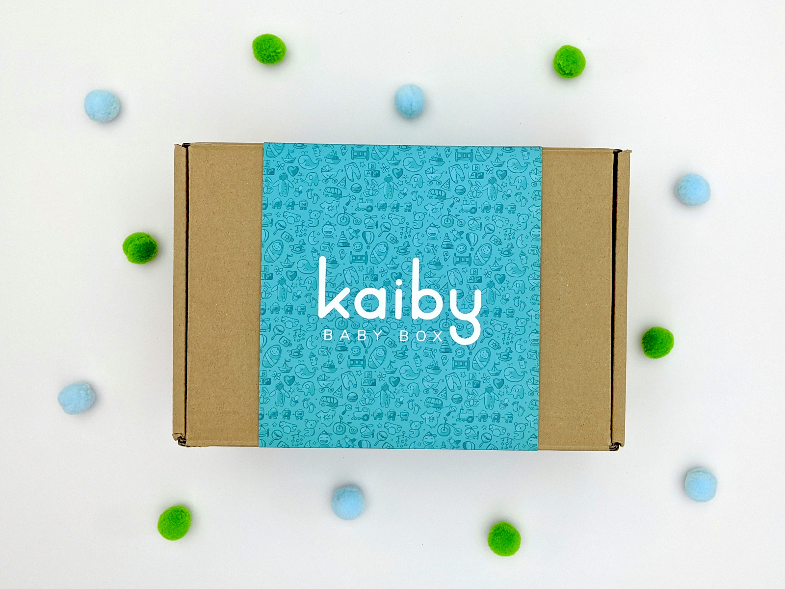 kaiby box outside with deco