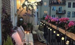 38 Luxus Deko Balkon