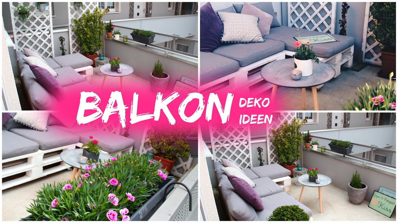Deko Balkon Einfach