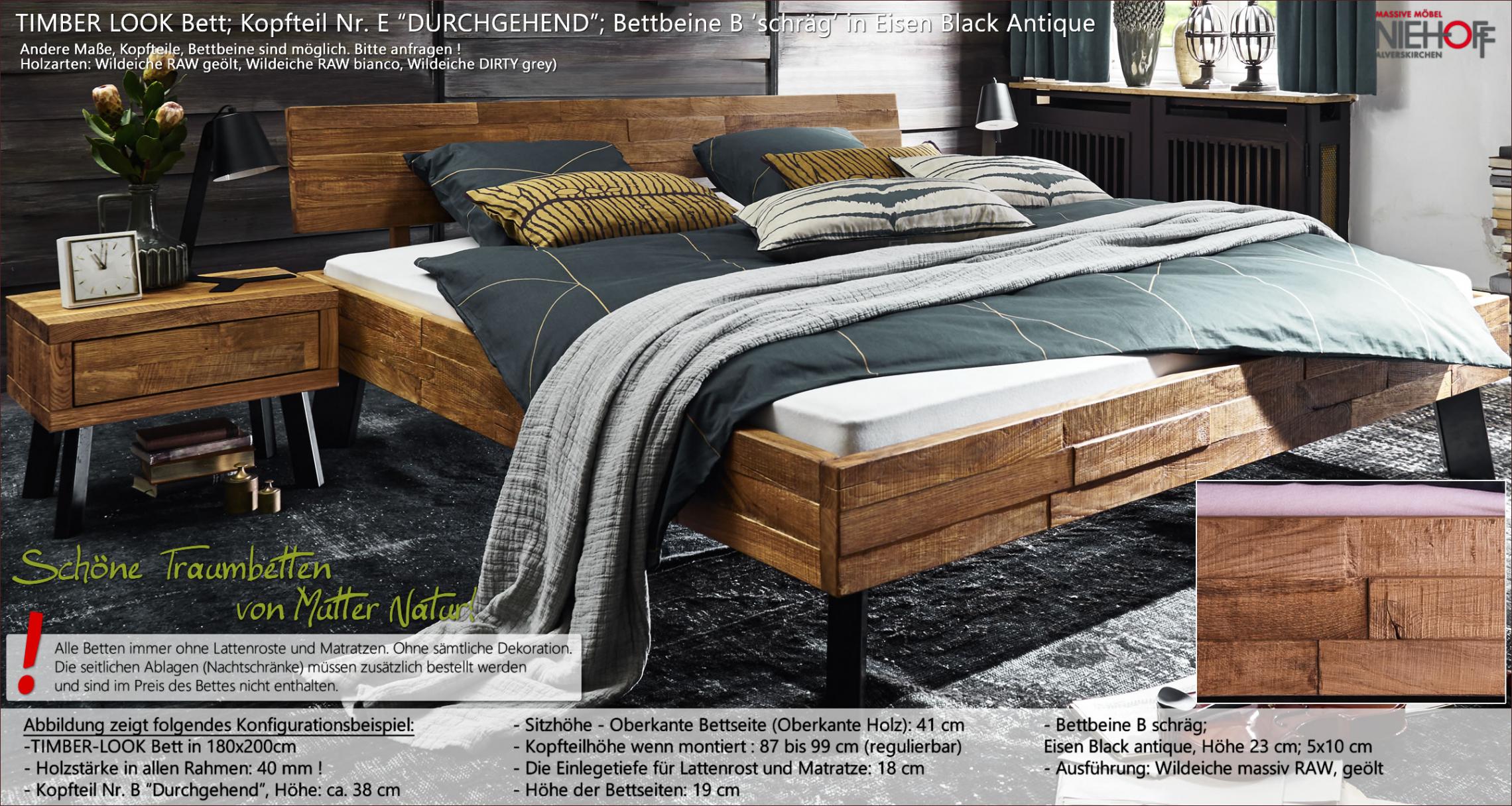 massivholzbetten timber look von danischem hersteller tjornbo bett vor fenster bett vor fenster