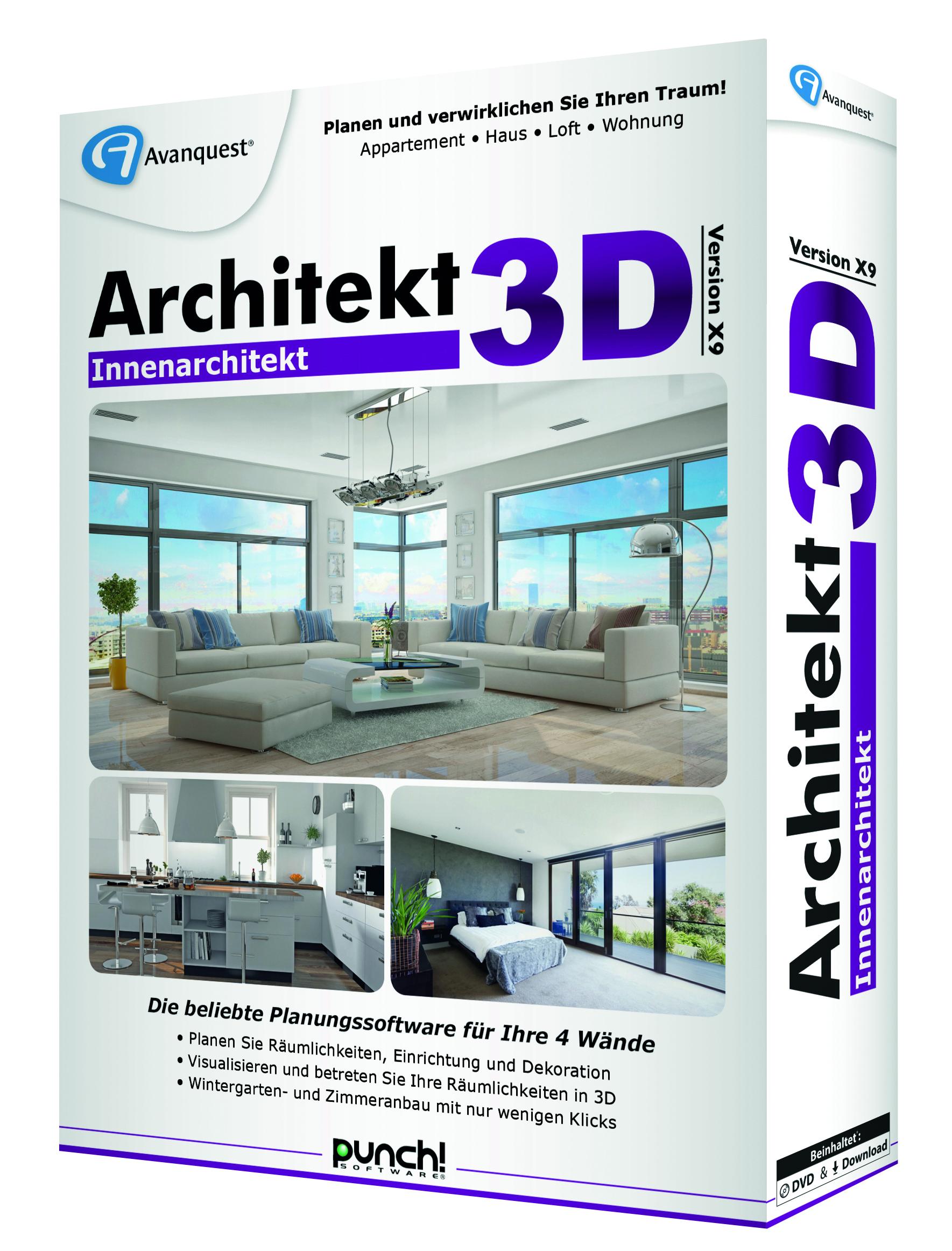 Architekt 3D Innenarchitekt X9 3D rechts 300dpi CMYK