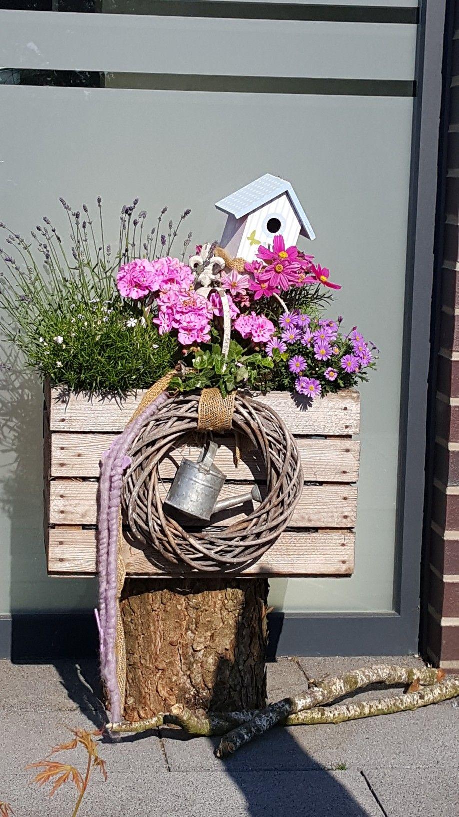 Deko Hauseingang sommer Einzigartig sommerdeko Blumendeko Haustür Eingang Deko