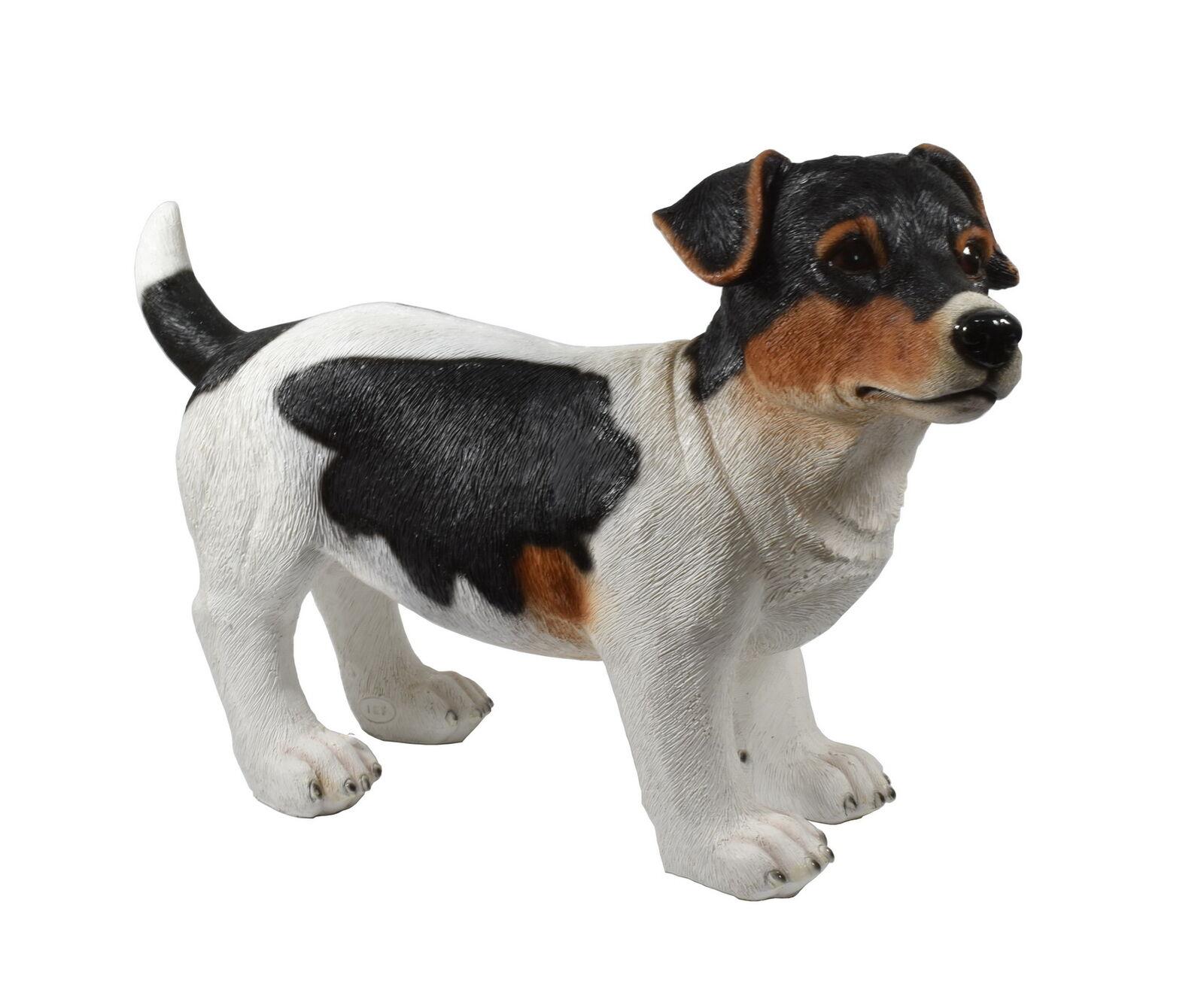terrier jack russel hund deko garten tier figur skulptur statue bullterrier