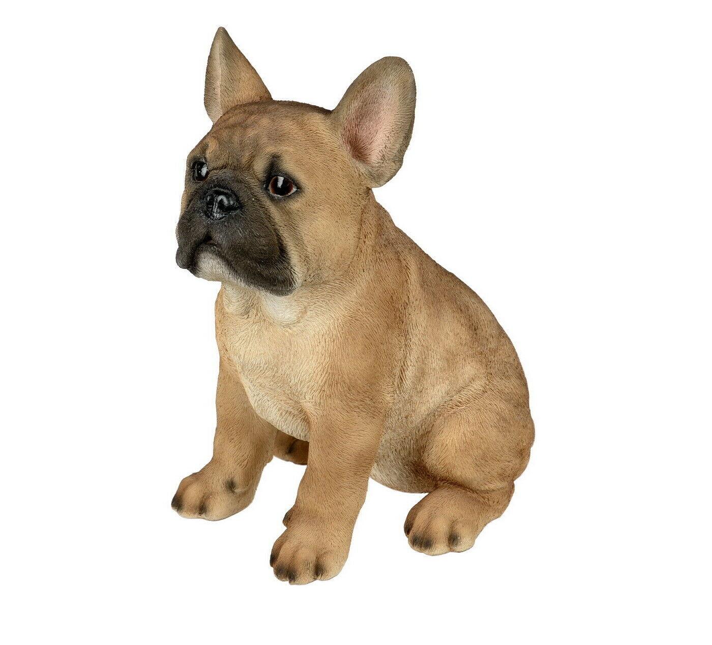 mops hund bulldogge dogge deko garten tier figur skulptur statue bull terrier