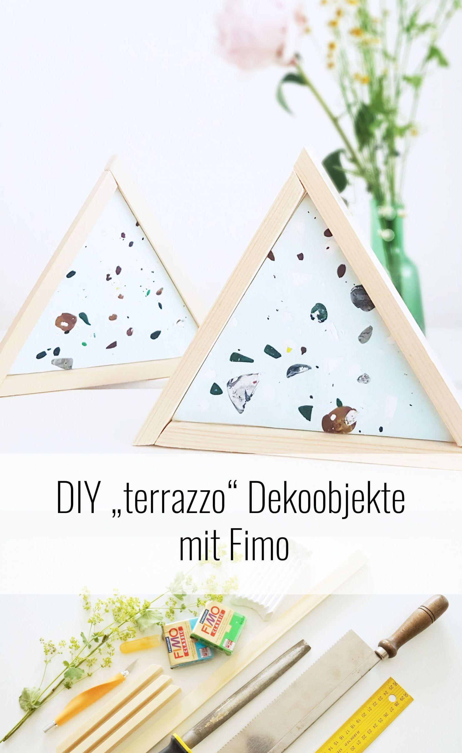 """Deko Ideen Aus Holz Selber Machen Elegant Terrazzo"""" Trend Im Badezimmer Diy Anleitung Für Dekorative"""