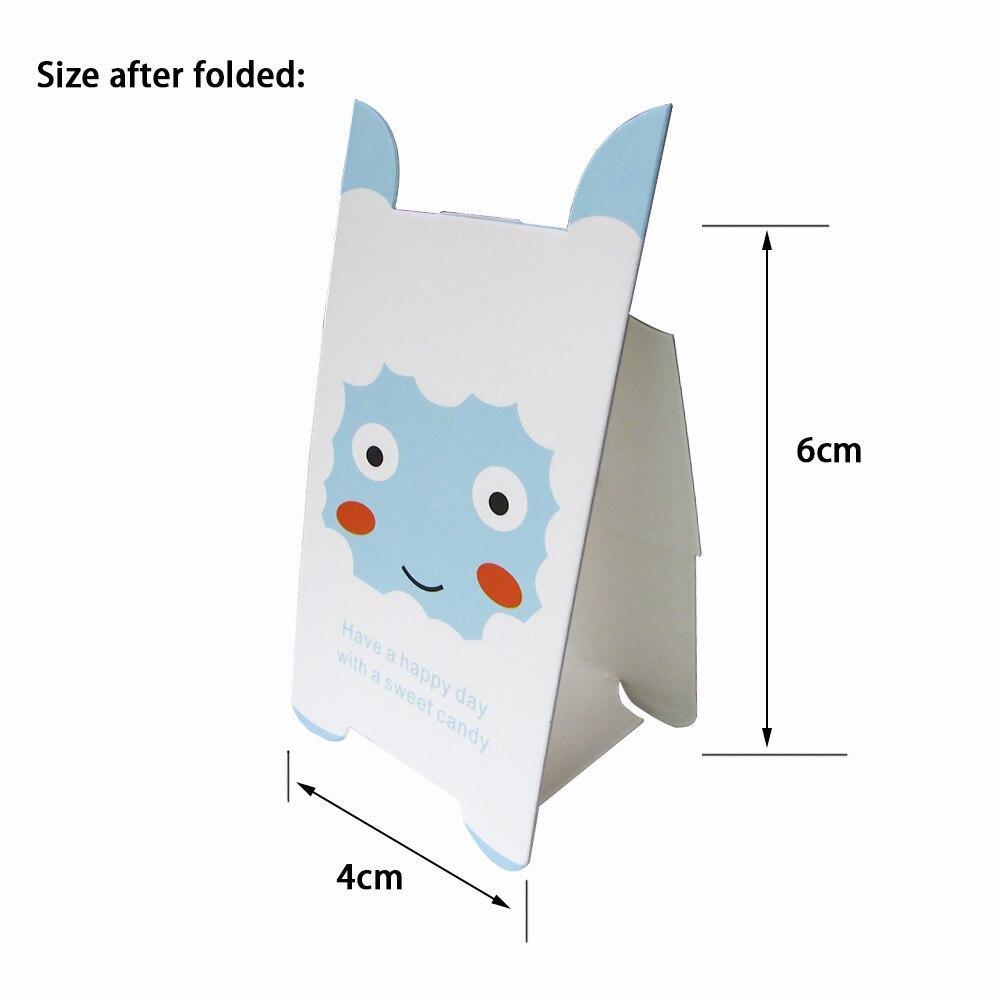 40 teile los Nette Pet Papier Lollipop Dekoration Karten Schwarz Katze Candy Stent Kinder Geburtstag Partei