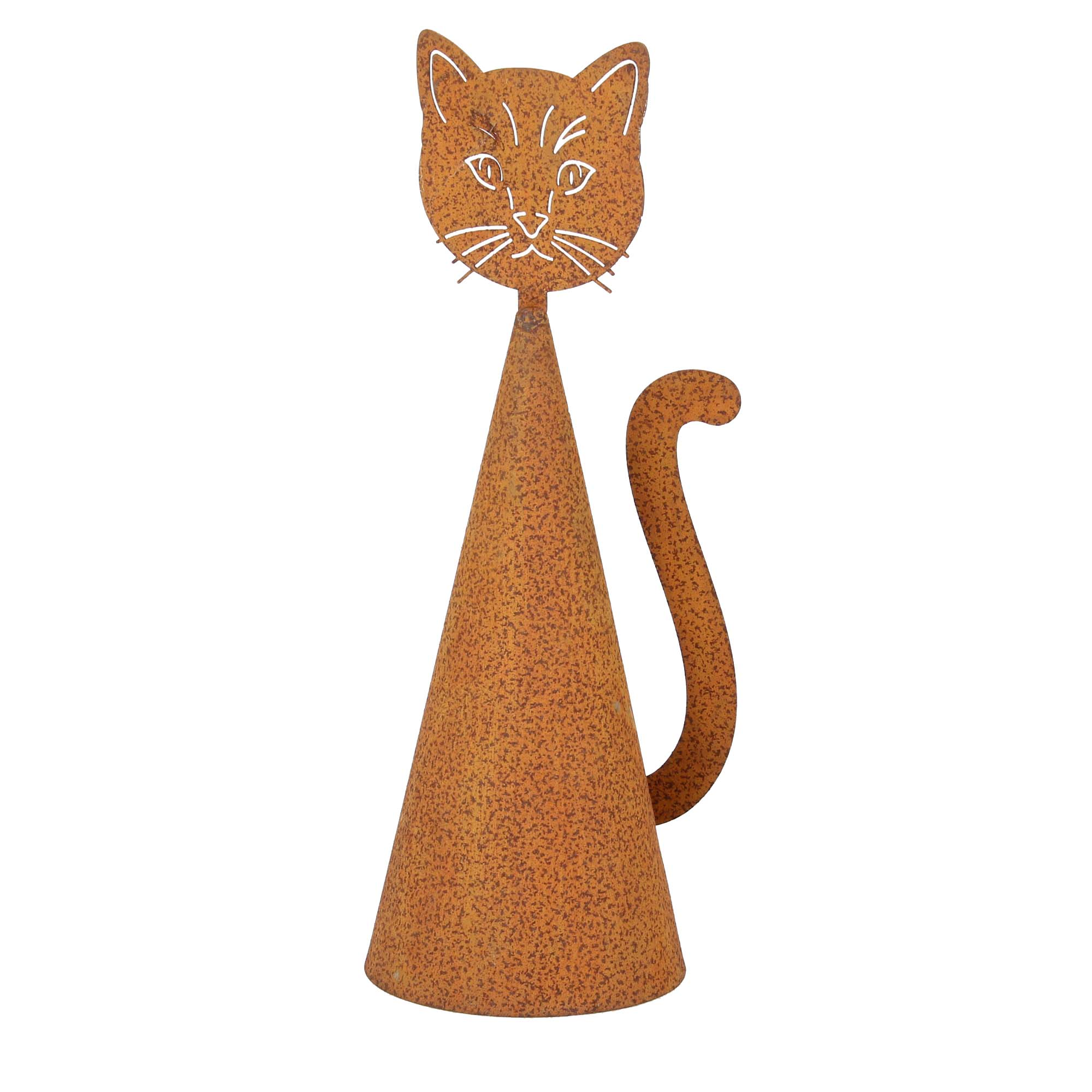 Dewoga 7395R Edelrost Zaunhocker Katze 2
