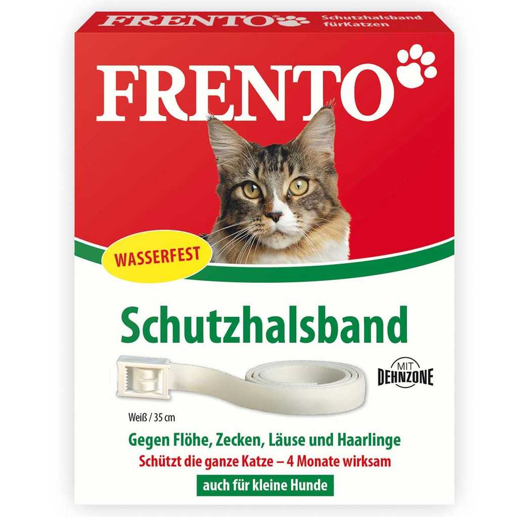 frento schutzhalsband fuer katzen kleine hunde