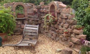 40 Genial Deko Mauer Im Garten
