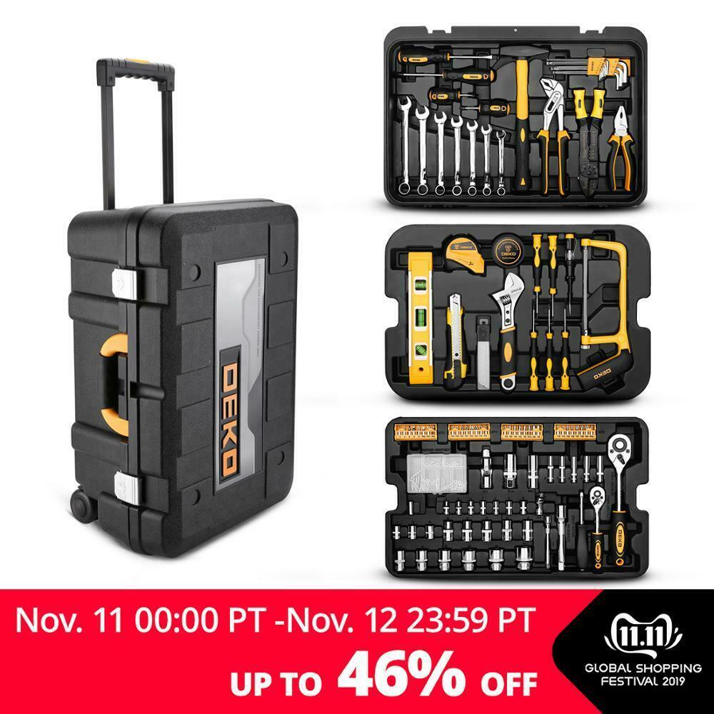 Deko Outlet Online Shop Elegant Deko Tz2582 Mechanic Household tool Set 255 Piece