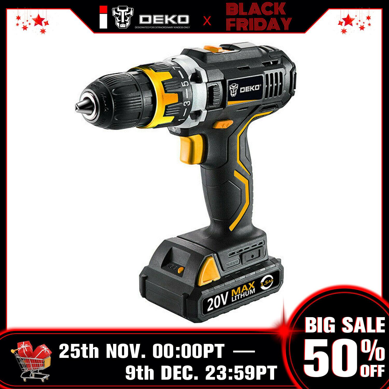Deko Outlet Online Shop Frisch Deko Gcd20du220v Max 1 2 In Electric Cordless Drill