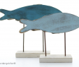 Deko Rostoptik Inspirierend Fische Maritime Deko Kleine Holz Figuren Fische Set