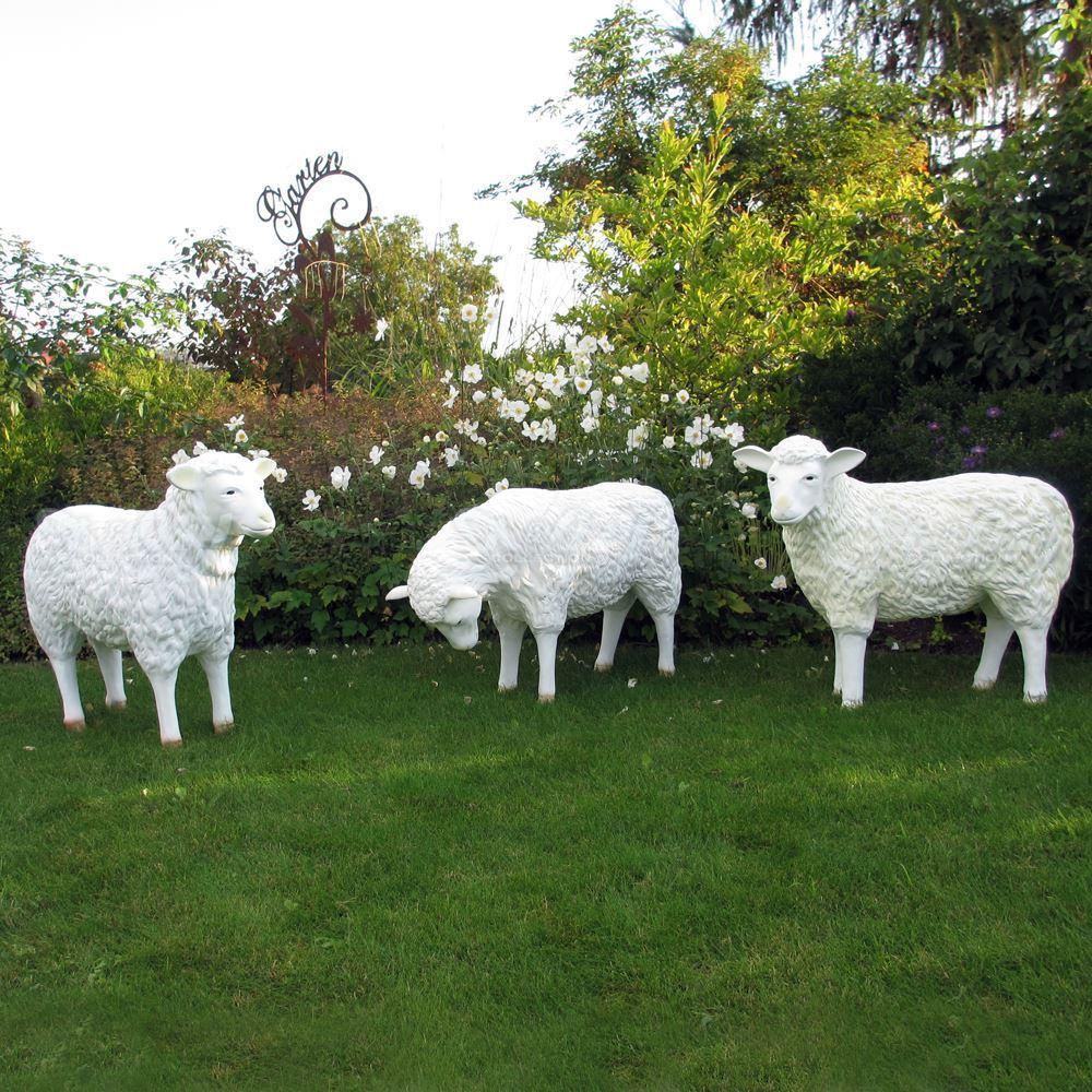 Schafe Patina 3er grasend 3 1000