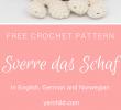 Deko Schaf Garten Elegant Sverre Das Schaf Dolls Crochet