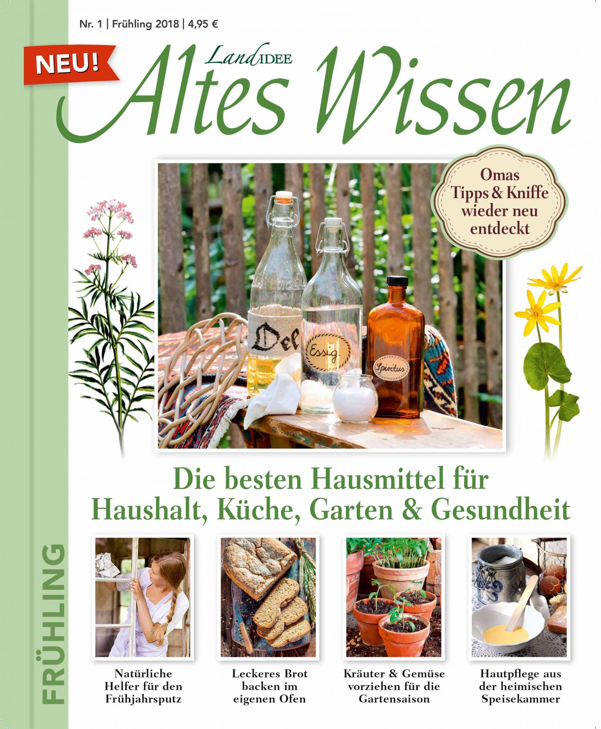 Cover LandIDEE Altes Wissen