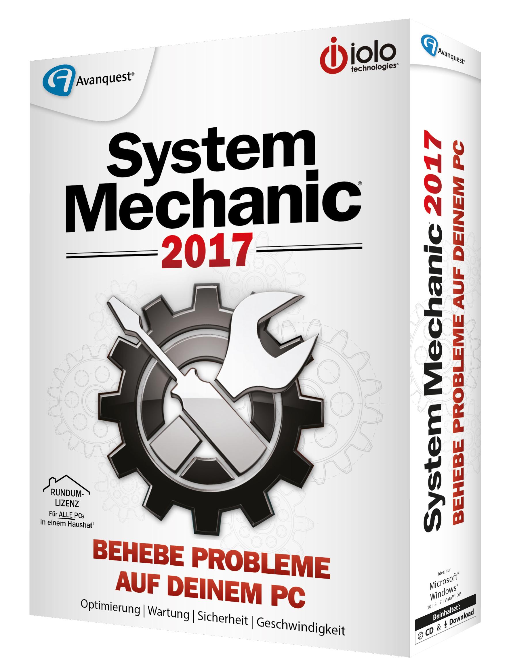 SystemMechanic 2017 Professional 3D rechts 300dpi CMYK JPG