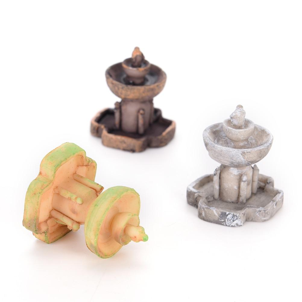 Garten Dekorationen K nstliche Brunnen Miniatur Fee H user Micro Landschaftsbau Dekor Dekoration DIY Zubeh r