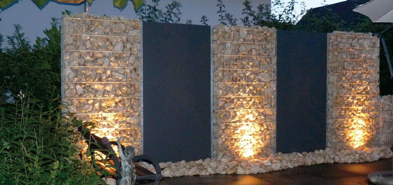 garten sichtschutz das beste von zaunteam zaune zaun zaunbeleuchtung gabionen of garten sichtschutz