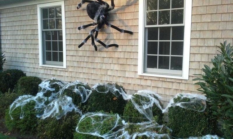 halloween deko selber machen fuer draussen