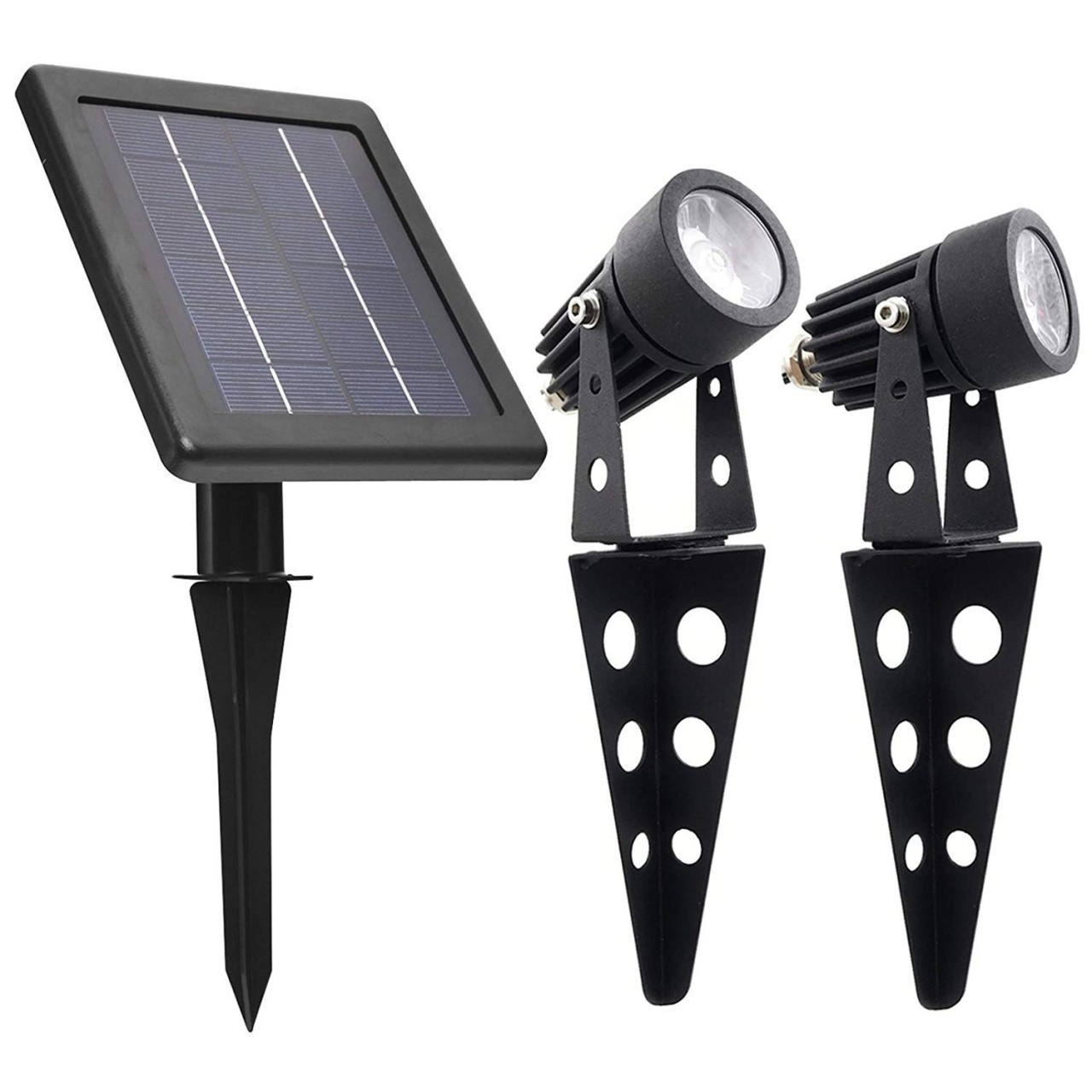 solar lights for vinyl fence posts solar light mart mini 50x twin solarbetriebener aluguss led strahler warmweis 60 100 lumen pro beleuchtungseinheit zur ausenbereichs garten from solar ligh