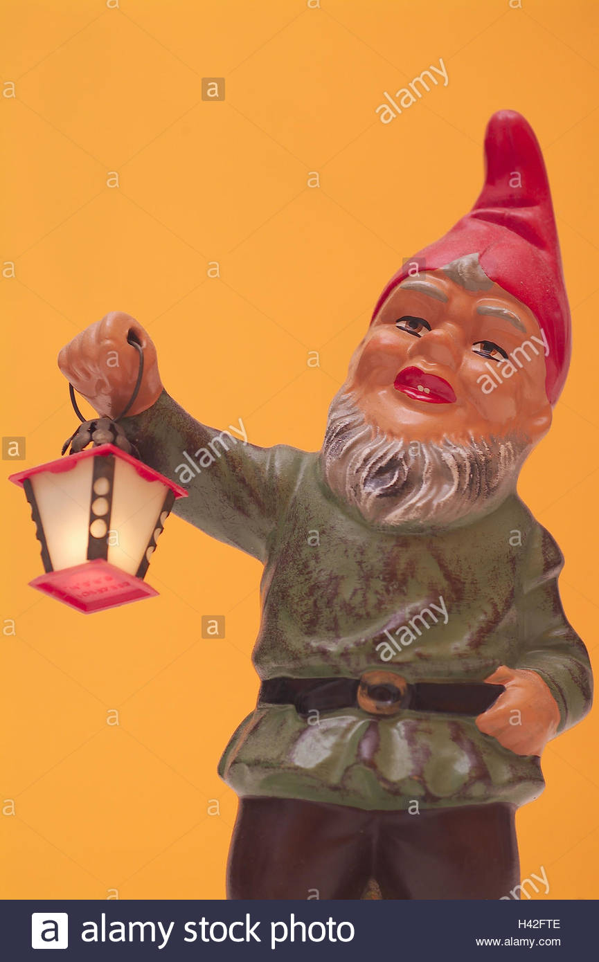 garden gnome lantern decoration garden decoration figure garden figure H42FTE