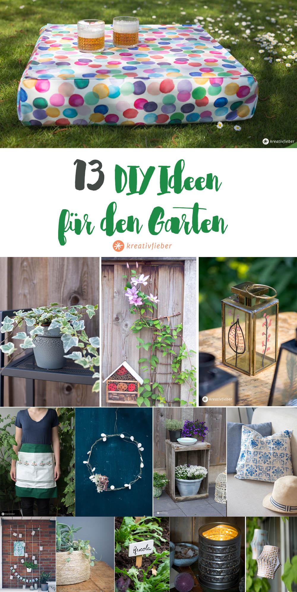 14 DIYs für den Garten