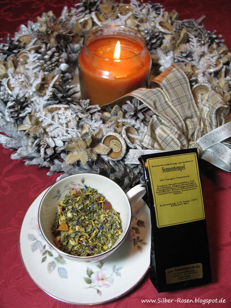 Tee mit Orangengeschmack