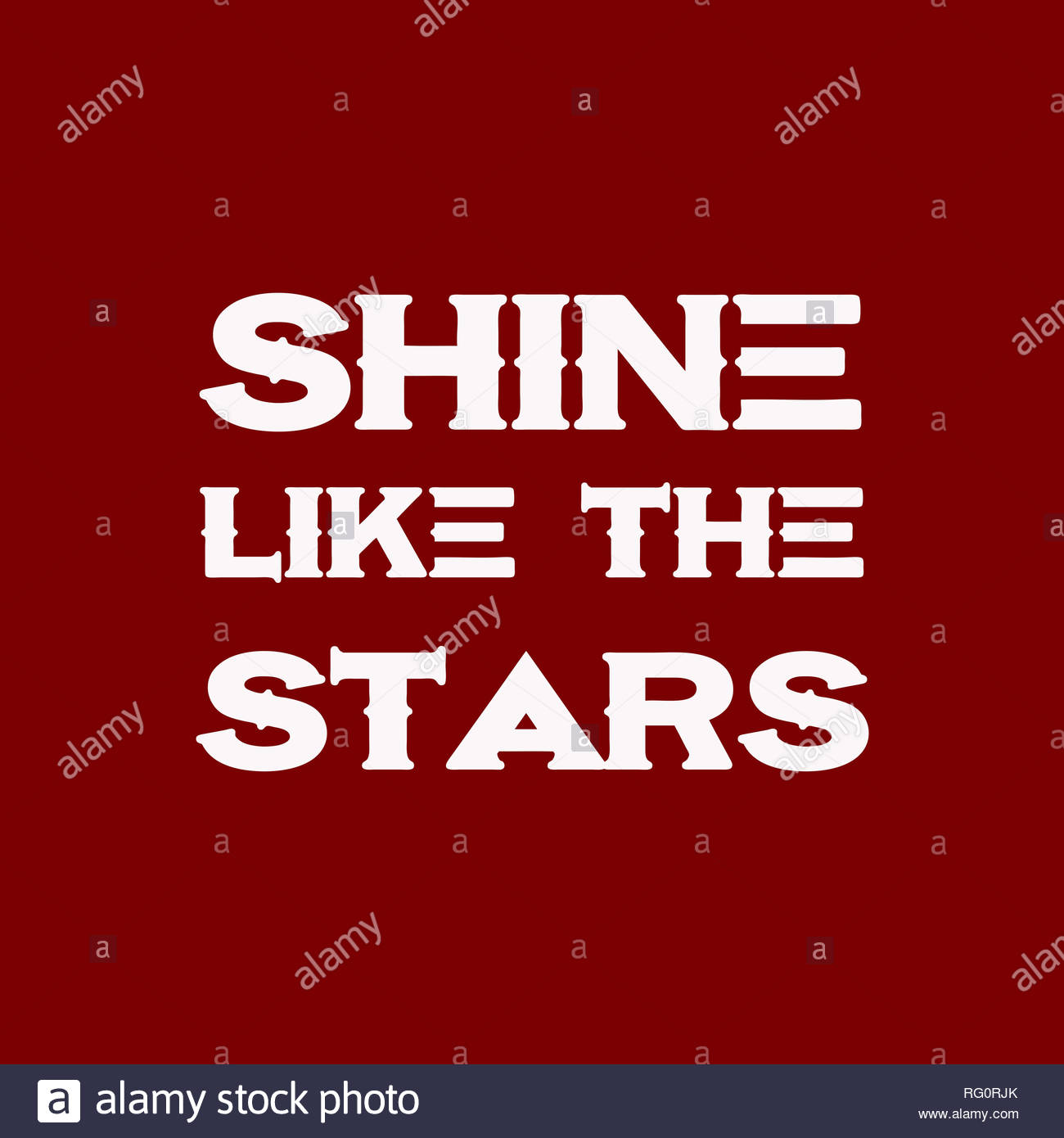 shine like the stars motivational and inspirational quote 2 rg0rjf RG0RJK