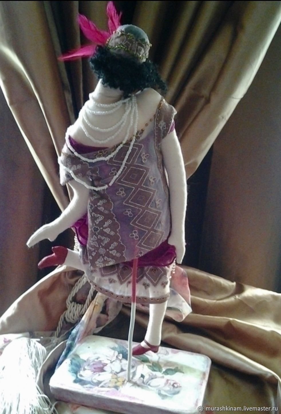 99aaf22d0c05df1491a3435cbb6d kukly i igrushki charlston art deko interernaya tekstilnaya ku