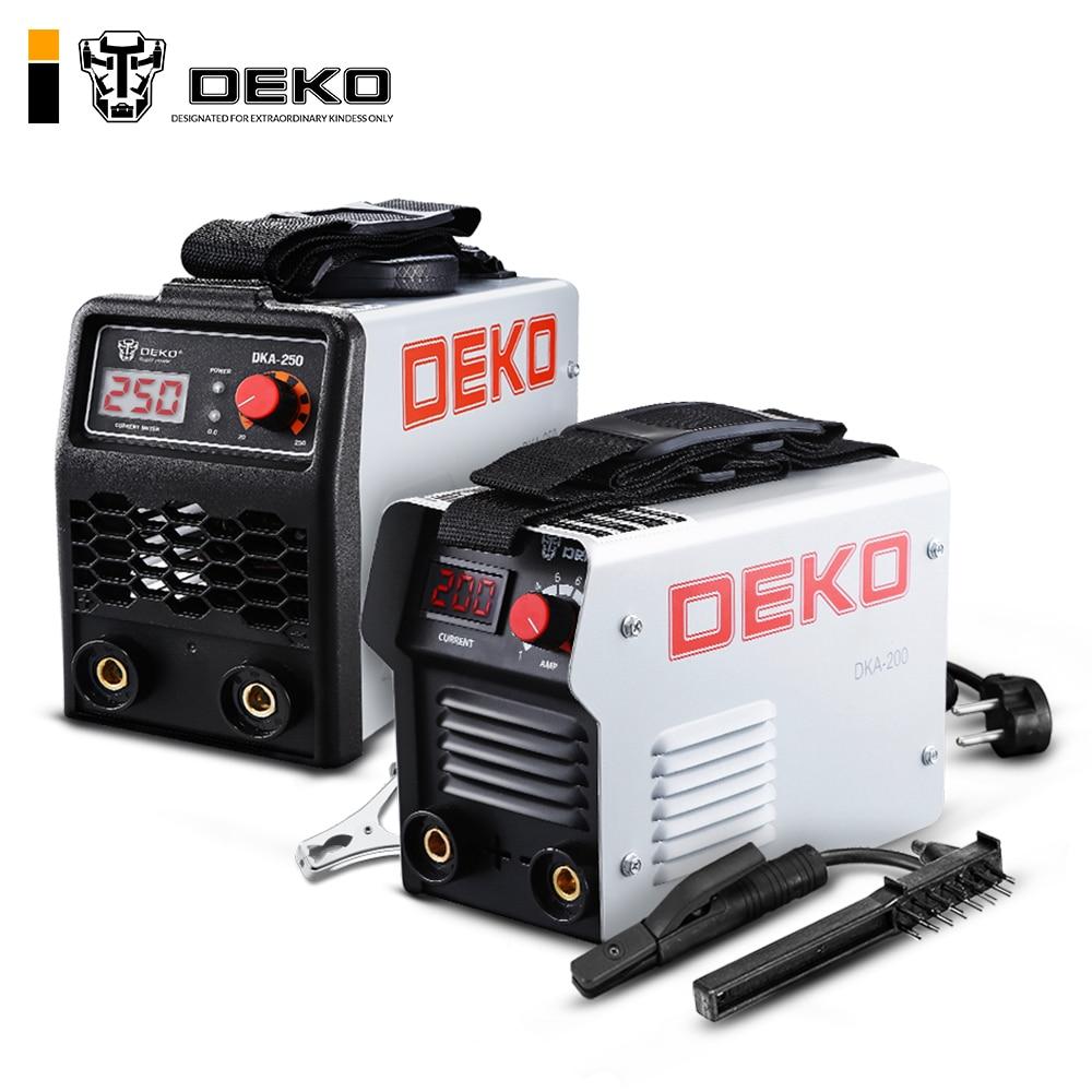 DEKO DKA Series DC Inverter ARC Welder 220V IGBT MMA Welding Machine 120 160 200 250