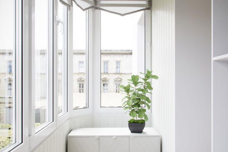 Dekoration Balkon Elegant БаРкон Дизайн однокомнатной квартиры 46 кв м в стиРе