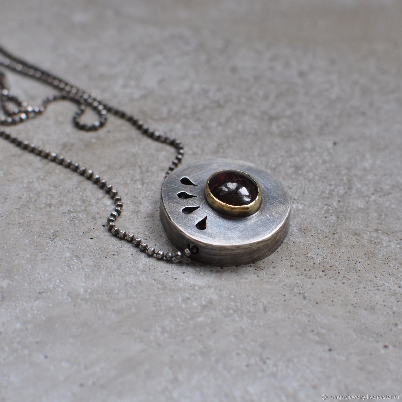 fab1282a8633f3da2913a6023du1 semi precious stones neck decoration with garnet silver and b