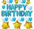 Dekoration Online Elegant theme My Party Happy Birthday Decoration Foil Balloons