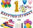 Dekoration Online Genial 1st Birthday Decoration Kit