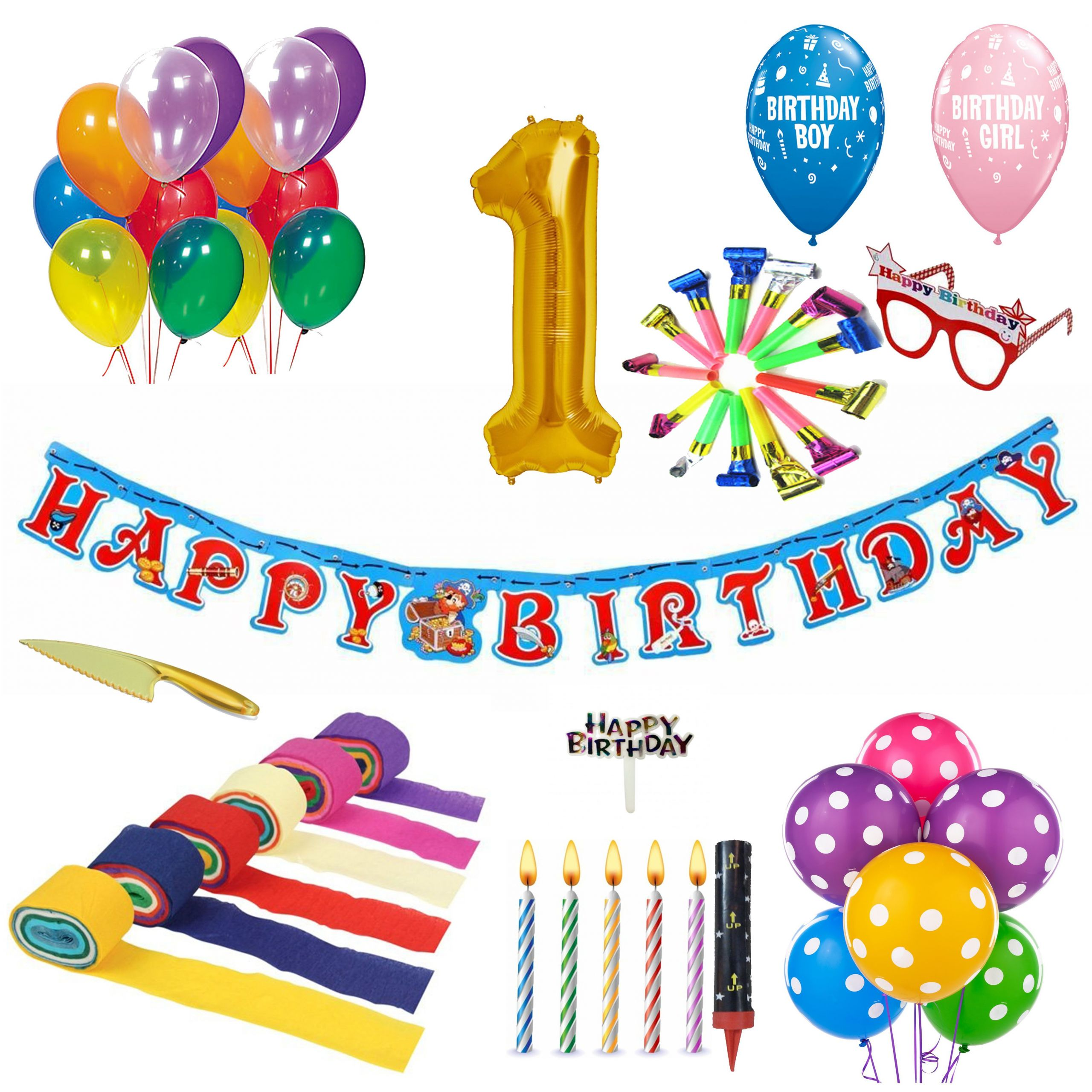 1st Birthday Decoration Kit SDL 1 b220b