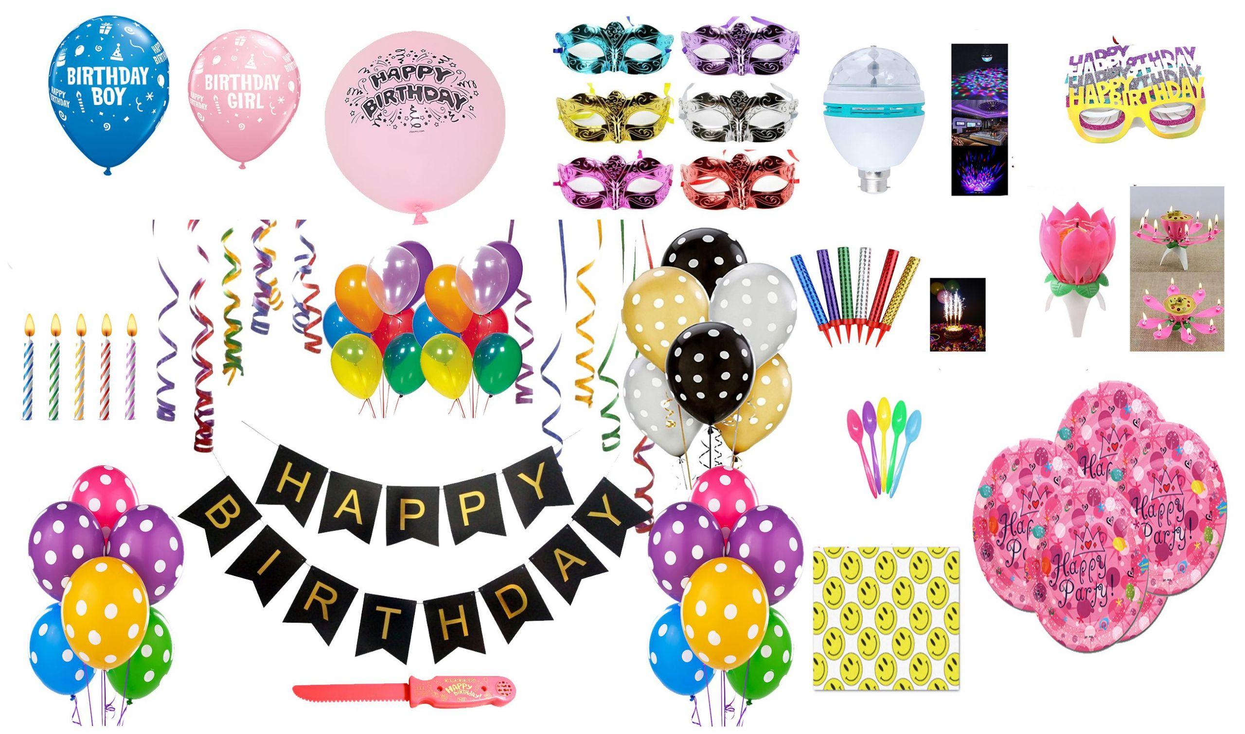 Birthday Room Decoration Kit SDL 1 af6d3