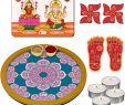 Dekoration Online Genial Indi Ts Puja Thali Puja Plate Diwali Gift Items Pooja