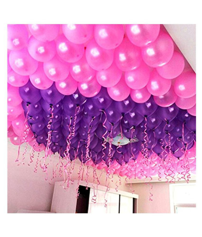 Metallic Purple and Pink Balloons SDL 1