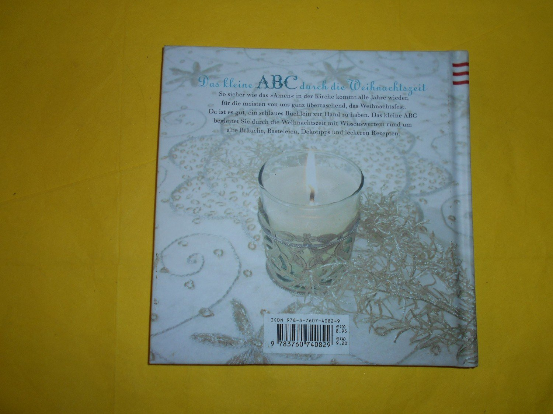 Das kleine ABC durch Weihnachtszeit
